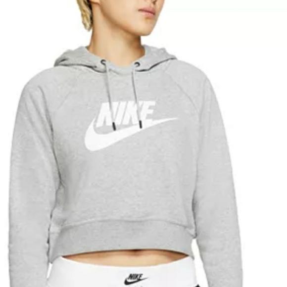 Nike Rally Crop Hoodie NWT